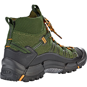 Keen Axis Evo Mid Shoes Herre olive night/marigold